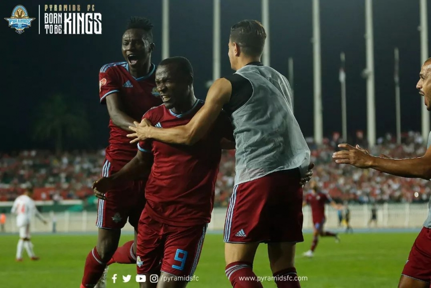 John Antwi scores to send Pyramids FC to Confederation Cup play-off round