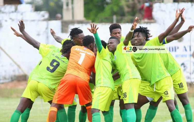 MATCH REPORT: Hafiz Konkoni strikes late to deny Ebusua Dwarfs away win in Bechem