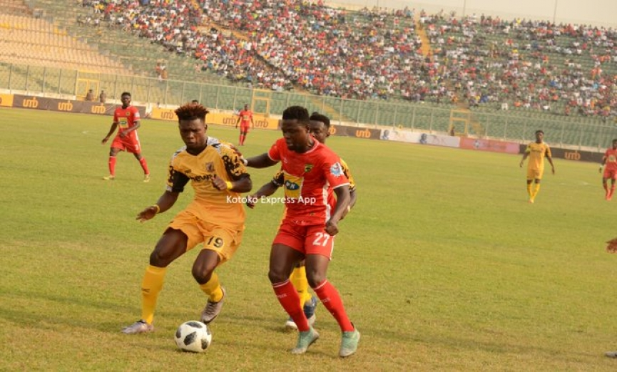 MATCH REPORT: Kotoko share spoils with Ashgold in JA Kuffour Cup