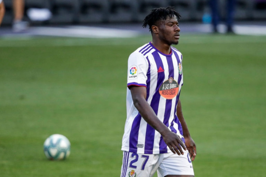Mohammed Salisu out of Real Valladolid clash with Valencia
