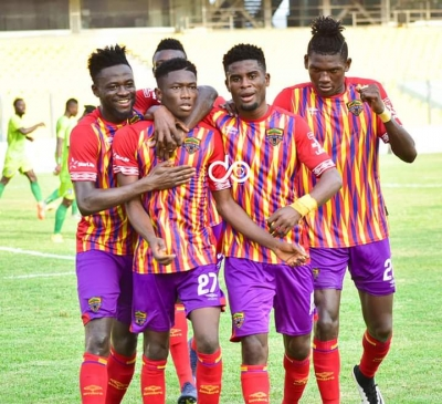 VIDEO: Watch the highlights of Hearts of Oak 2-0 win over Eleven Wonders