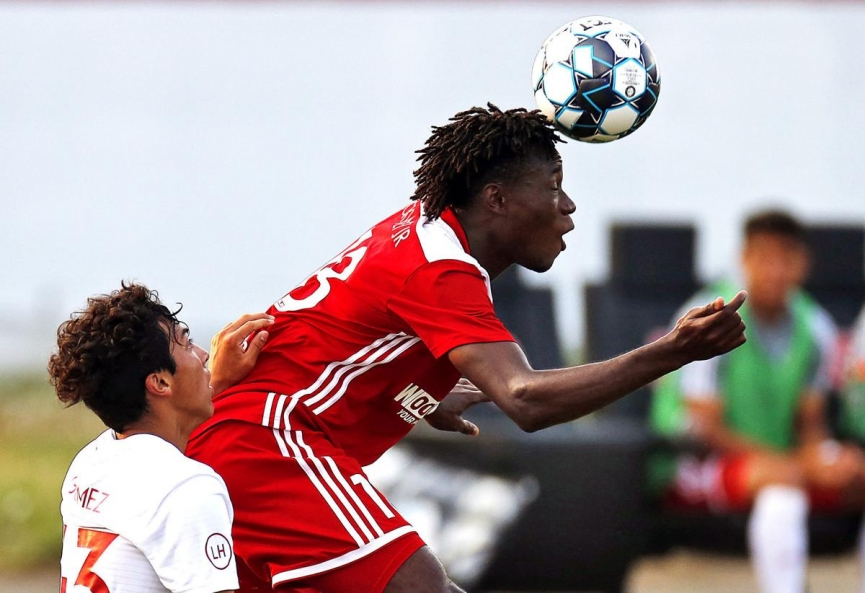 Wahab Ackwei makes USL League Team of the Week for the fourth time