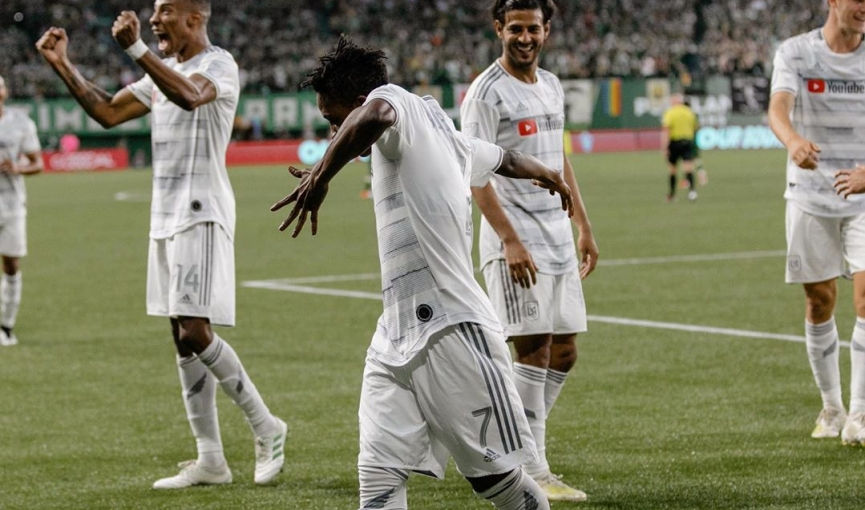 Latif Blessing scores to power Los Angeles FC to away victory