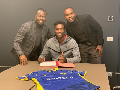 Ghanaian sensation Philip Yeboah signs professional contract with Hellas Verona