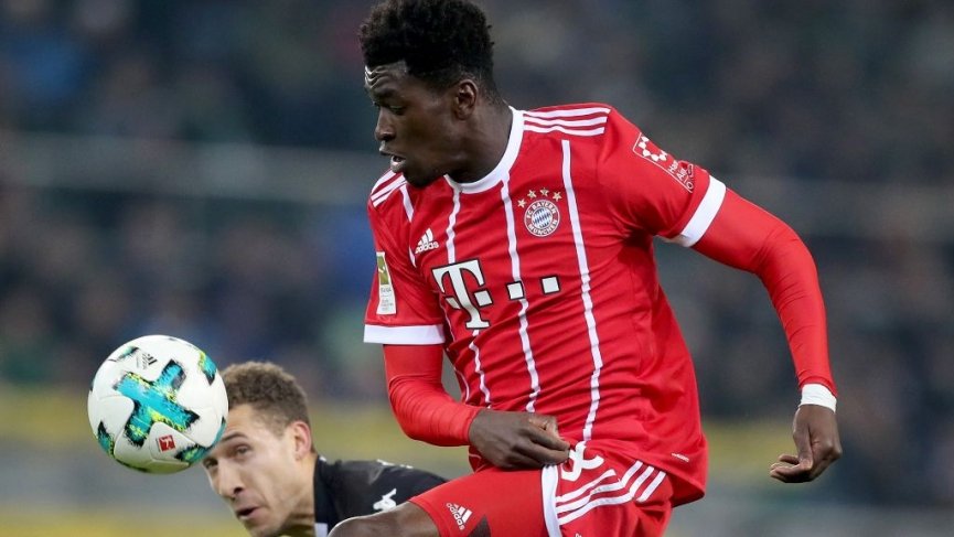 Ghanaian starlet Kwasi Okyere scores his 17th goal of the season for Bayern Munich