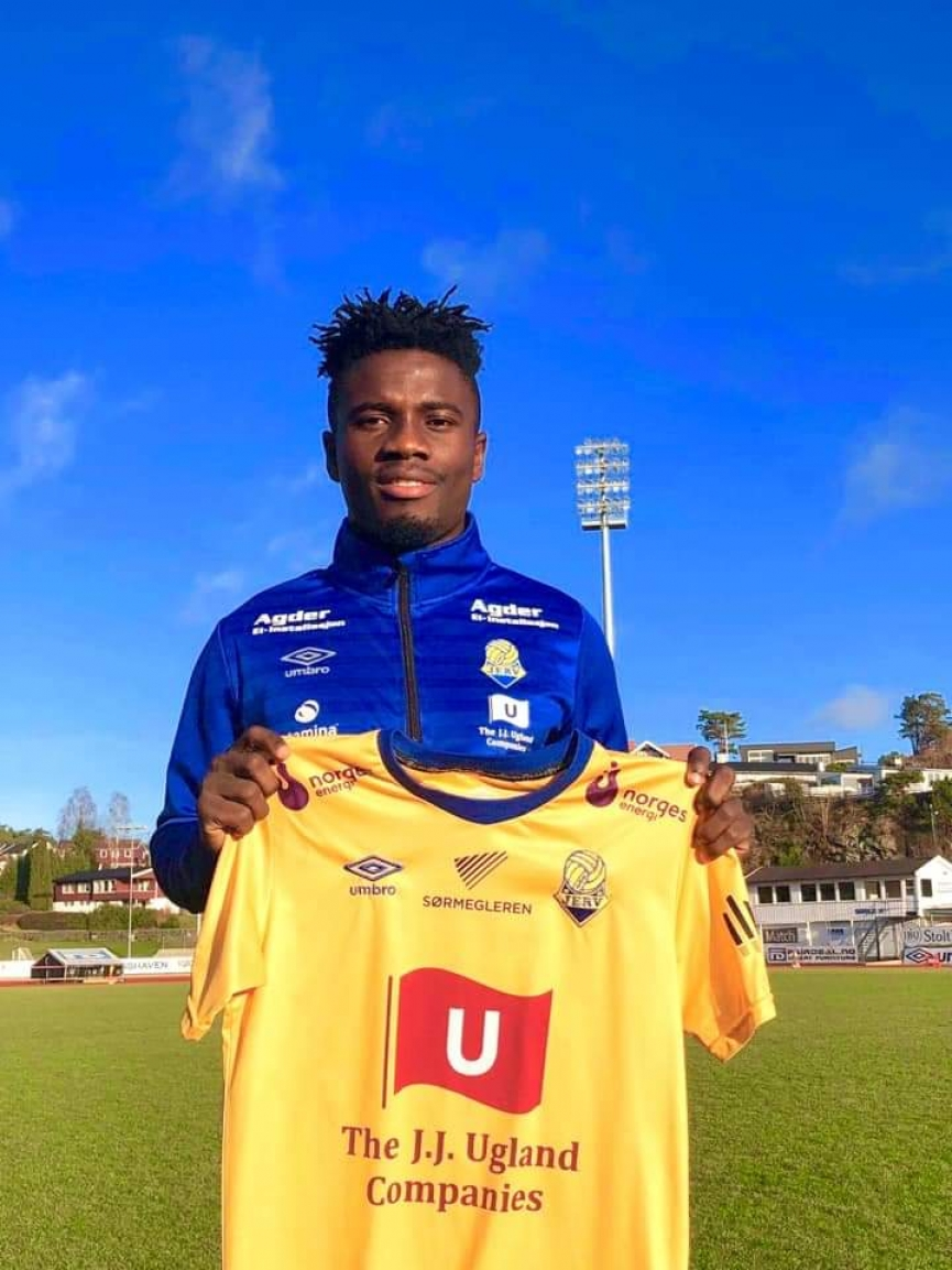 Talented midfielder Michael Baidoo joins FK Jerv