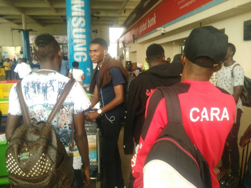 CARA arrive in Ghana ahead of Kotoko clash