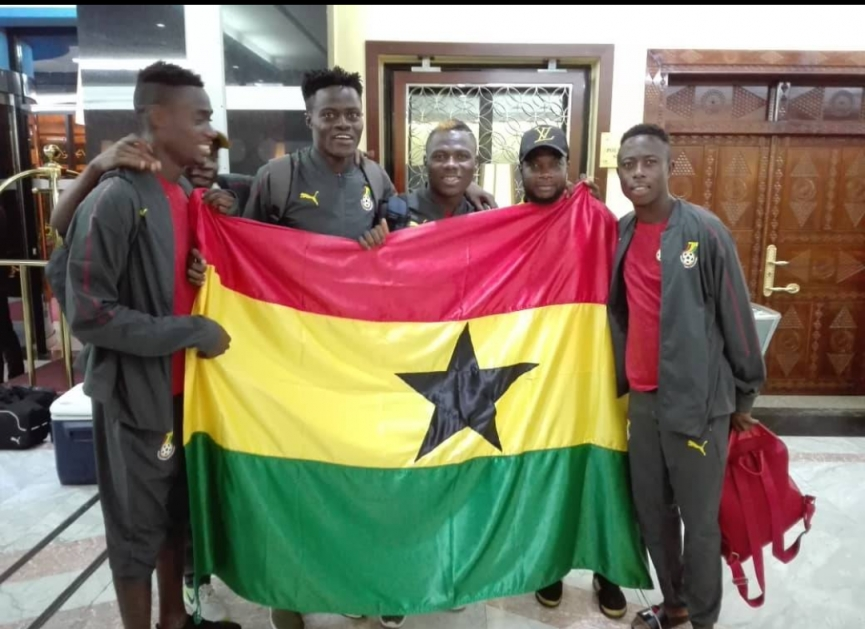 Black Satellites arrive after holding Algeria in AFCON U20 Qualifiers