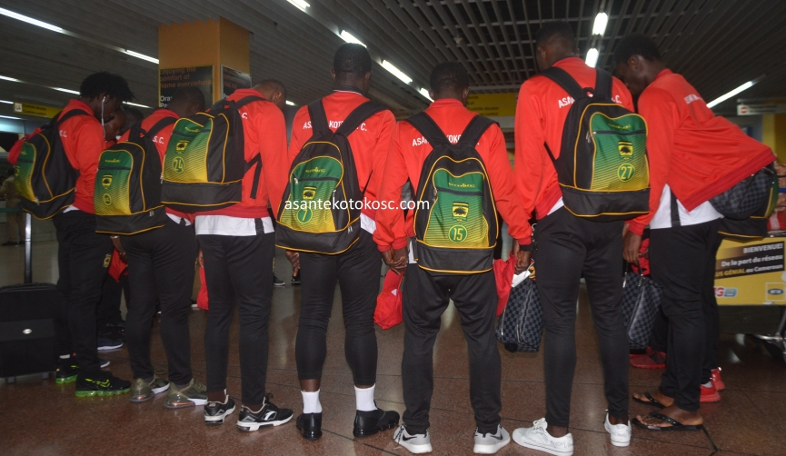 Kotoko arrive in Sudan ahead of Al Hilal clash