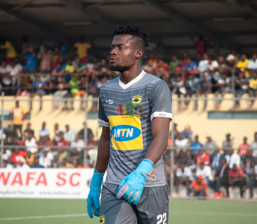 BUDU's CORNER: How Kwame Baah Is Proving To Be An Astute Contender for Kotoko's No.1