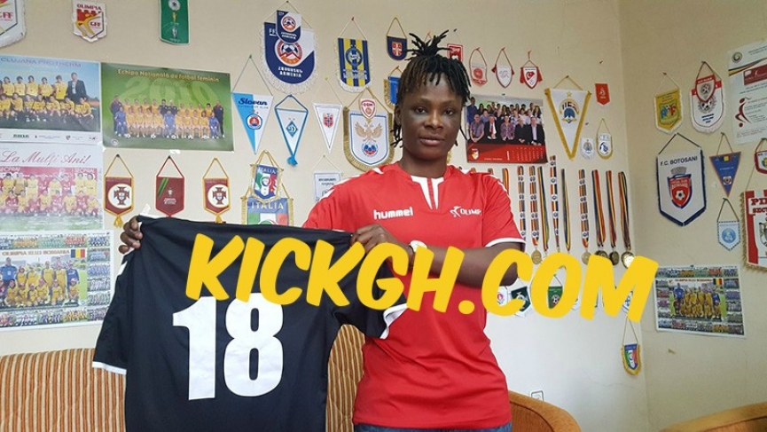 Ghana's Priscilla Hagan joins Romanian giants Olimpia Cluj