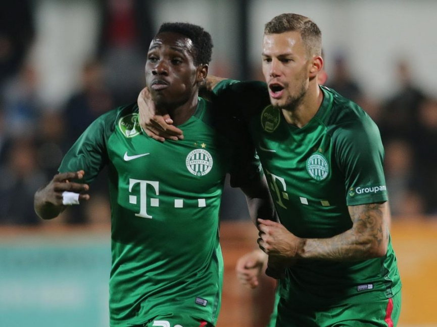 Joseph Paintsil scores again for Ferencvaros TC