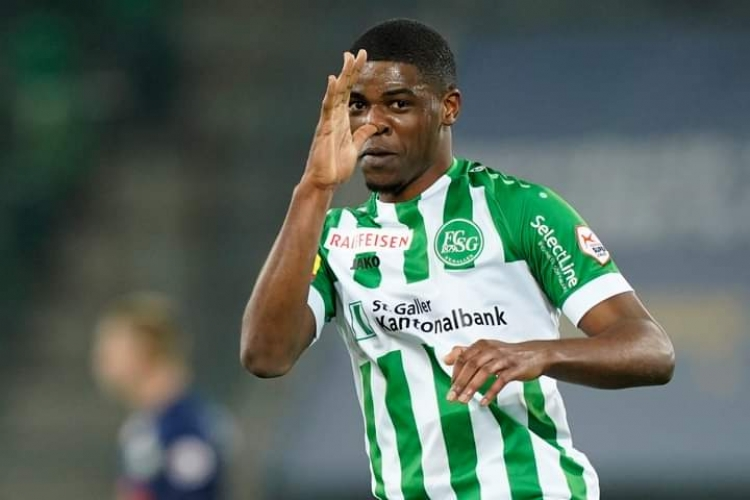 Kwadwo Duah scores his 10th goal as FC St. Gallen trounce his boyhood club BSC Young Boys