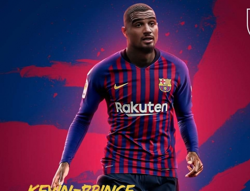 OFFICIAL: KP Boateng joins Barcelona