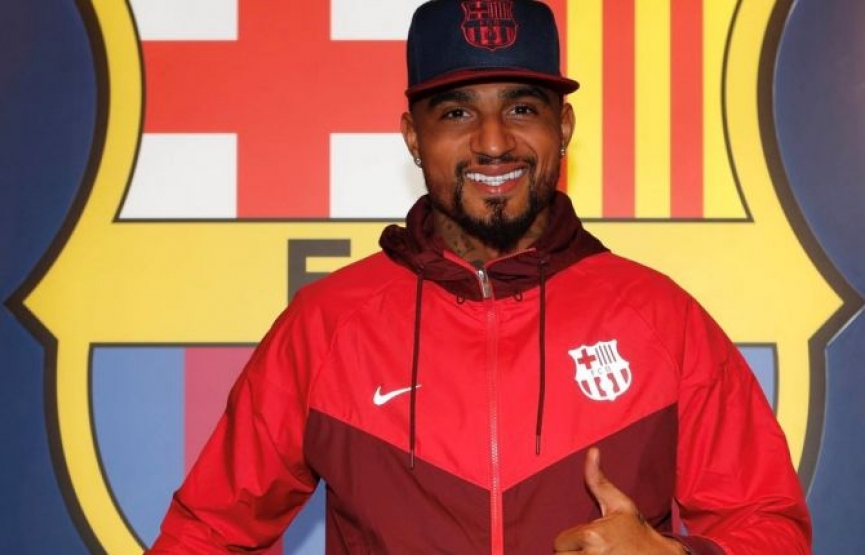 Barcelona reveal reasons behind Surprise Kevin-Prince Boateng signing