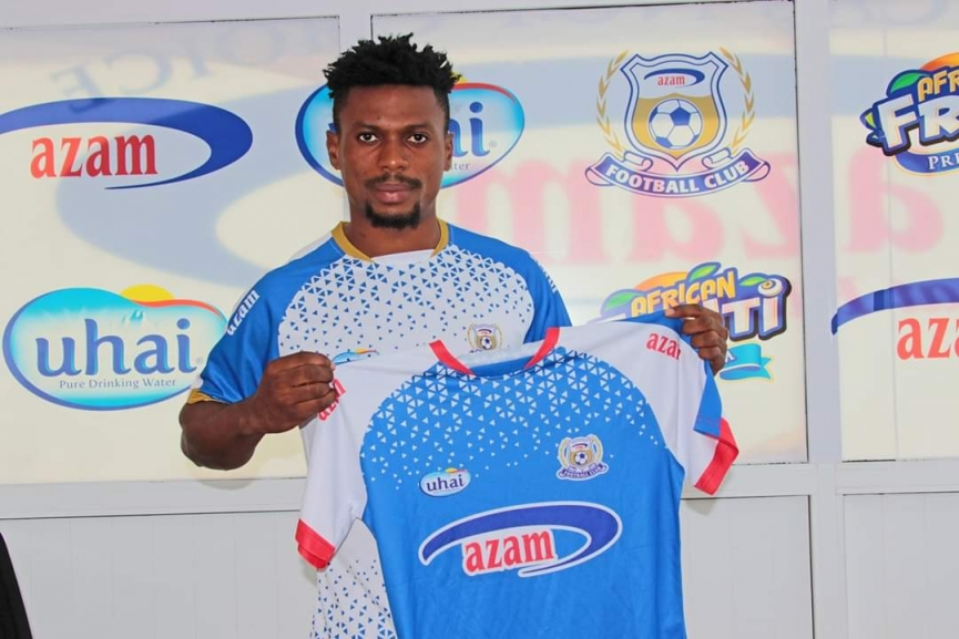 OFFICIAL: Richard Djodi signs for Azam FC in Tanzania