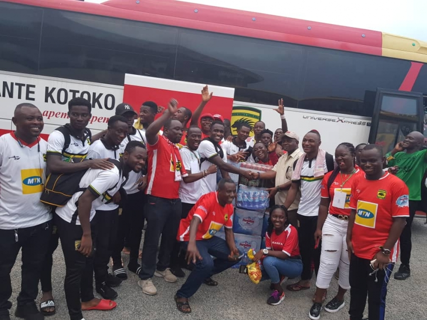 Greater Accra Circles Donate To Kotoko After Victory Over Hearts
