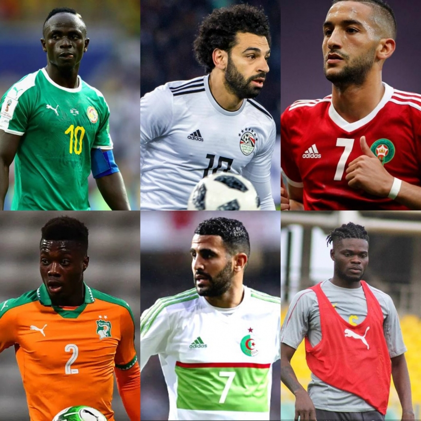 AFCON 2019: Six Stars To Watch Out For At The 2019 AFCON